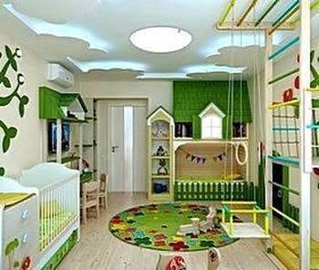 Идеи для интерьера детской комнаты