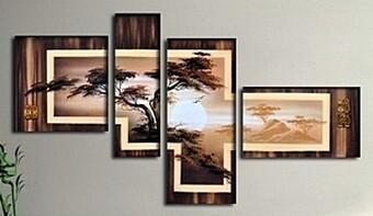 Модульные картины в японском стиле