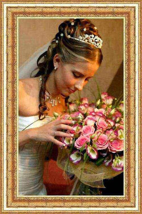 Фото на холсте. Девушка с розами