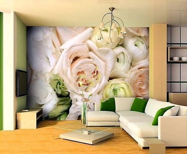 Розы. Фотообои
