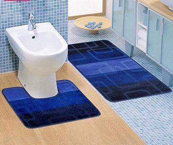 Коврики для ванной и туалета - как выбрать