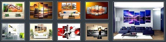 Примеры модульных картин Ведениной