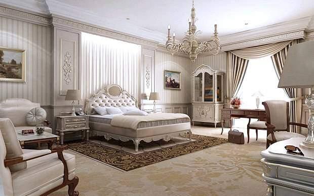Спальня в стиле классицизма