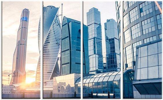Картина Москва-сити