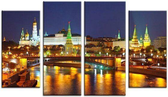 Купить картину Московский кремль