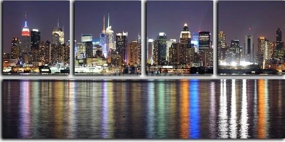 Картина Огни Нью-Йорка недорого