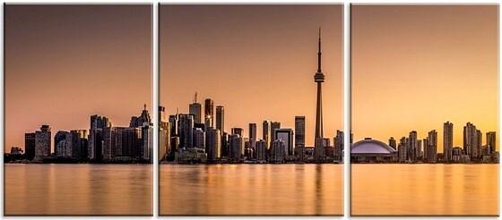 Модульная картина Торонто