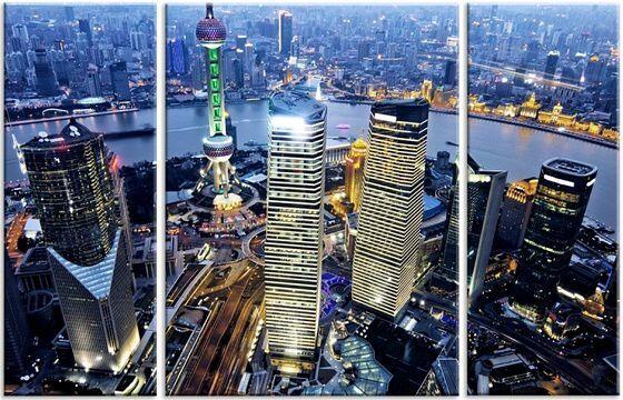 Модульная картина Шанхай