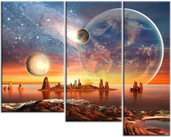 Картина Фантастический пейзаж