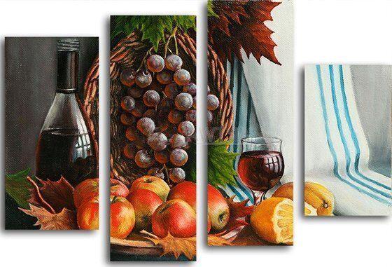 Натюрморт с виноградом в интернет магазине