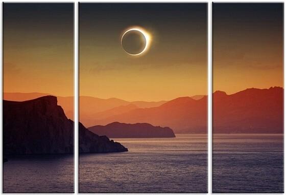 Модульная картина Затмение