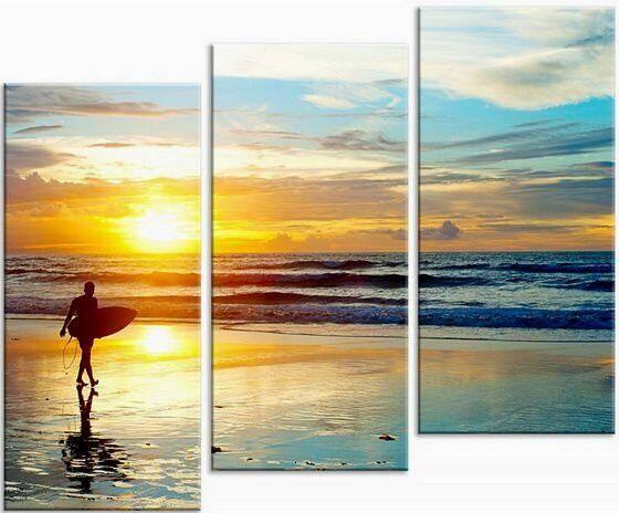 Пейзаж Море на закате