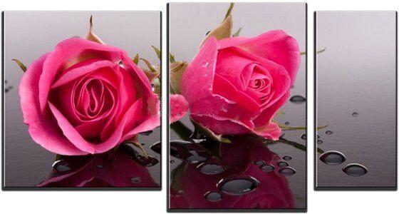 Нежные розы. Картина в интернет магазине