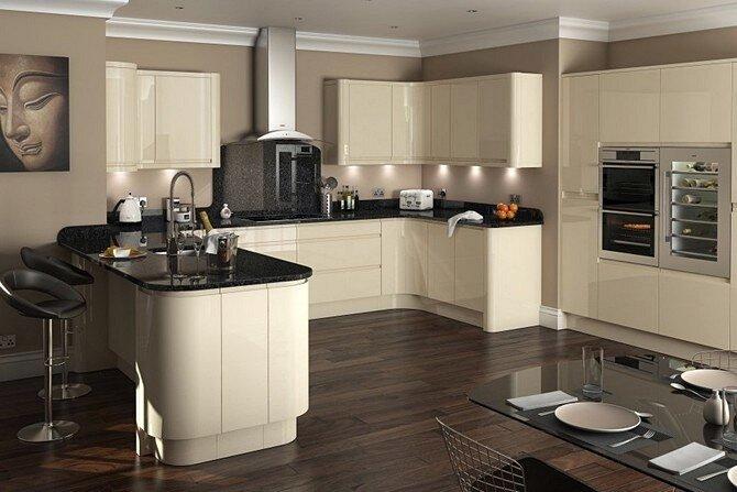 Интерьеры маленьких кухонь а стиле модерн