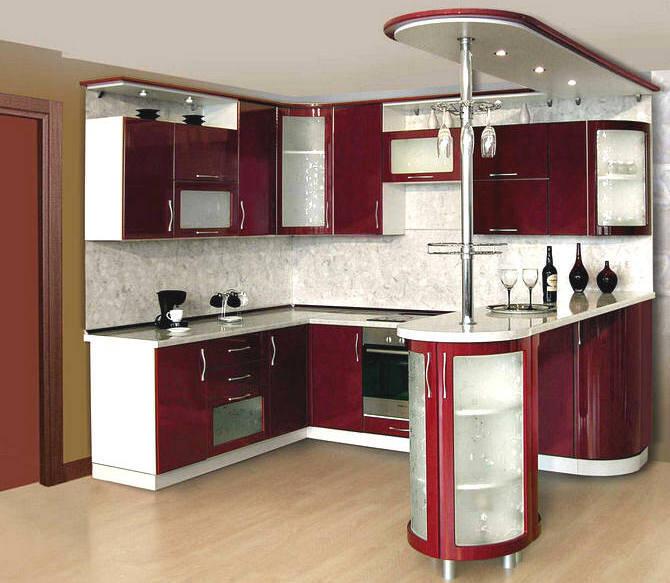 Интерьеры кухонь в стиле модерн