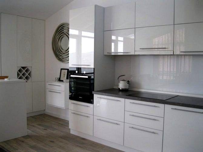 Маленькие кухни в стиле минимализм