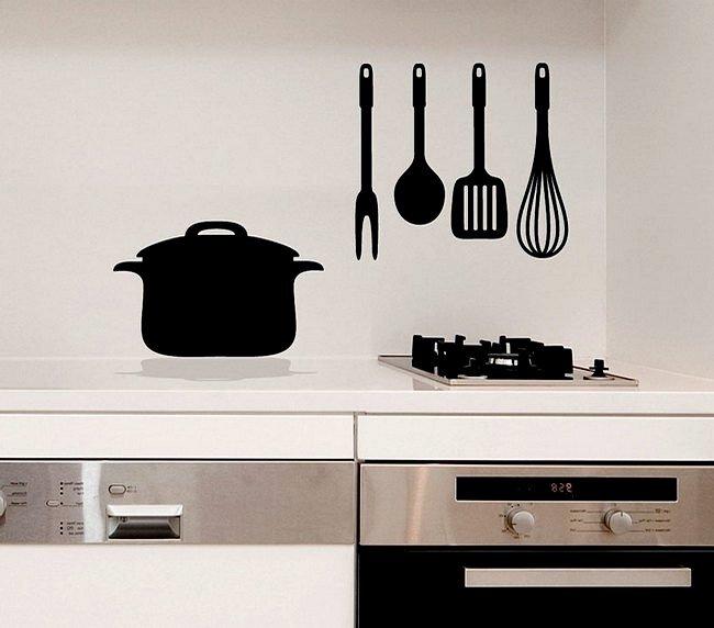 Стикеры для интерьера кухни