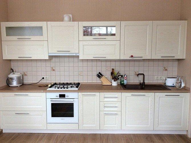 Планировка кухонь. Одна линия