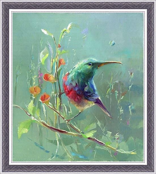 Постер Лесная птица