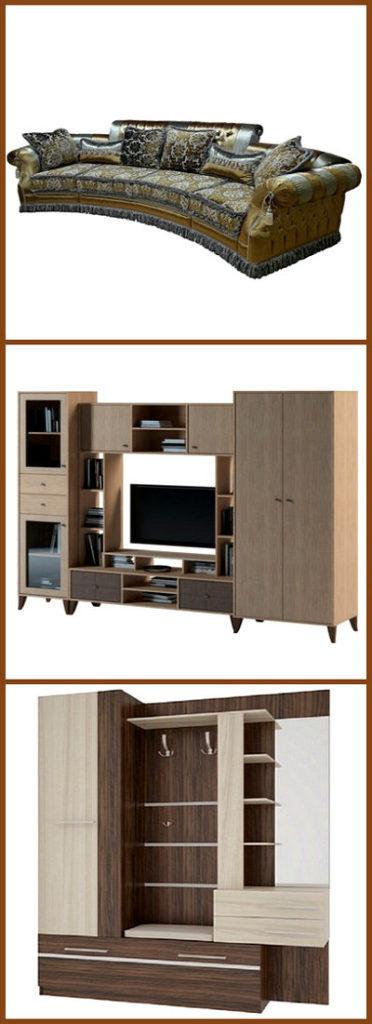 Мебель - коллаж 4