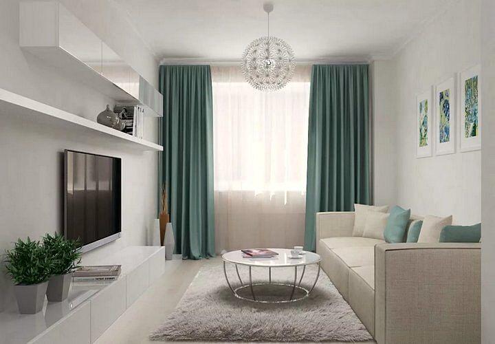 Отсутствие лишней мебели дает ощущение простора