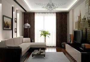 Дизайны гостиных в квартирах
