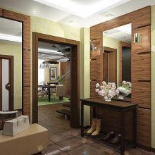 Интерьер прихожей в квартире - всё от планировки до отделки