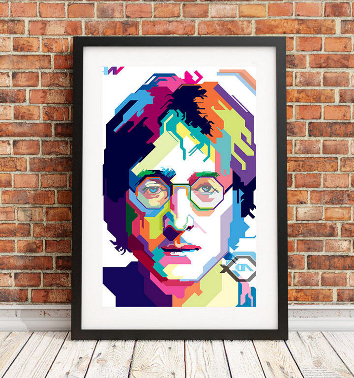Постер с изображением Джона Леннона