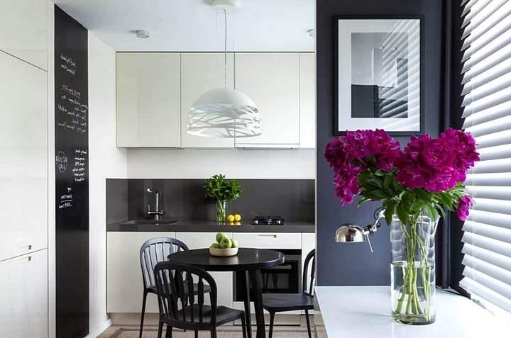 Минималистический дизайн кухни
