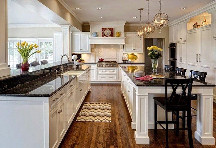 Дизайн кухни в стиле неоклассики