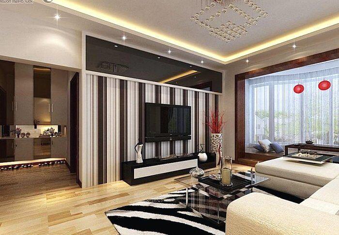 Продуманный интерьер гостиной