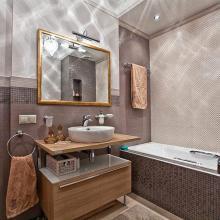 Маленькая ванная комната - как сделать ее удобной