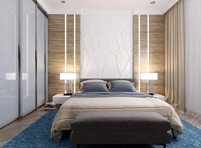 Дизайн интерьера современной спальни