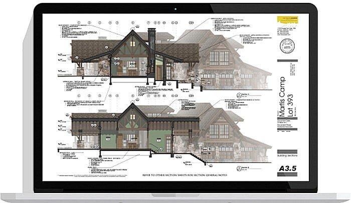 Интерфейс программы для дизайна интерьера Google Sketchup