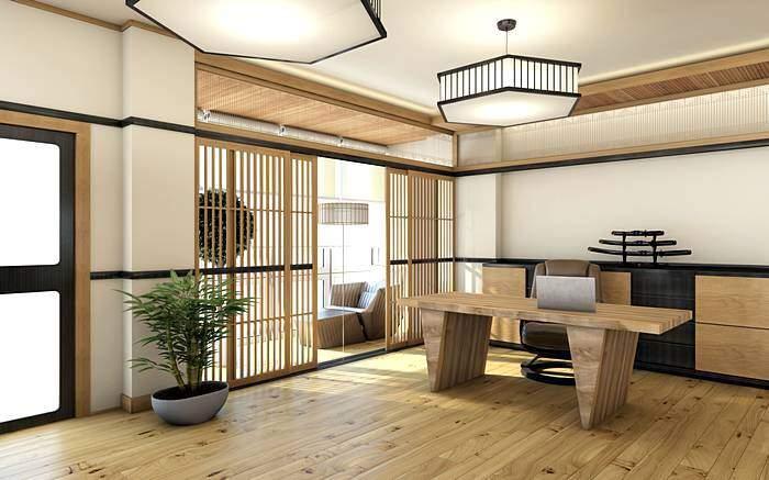 Интерьер в японском стиле