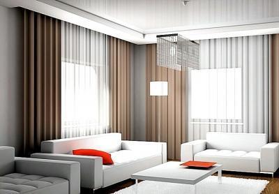 Как выбрать шторы в гостиную комнату