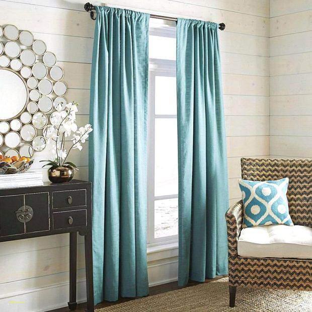 Шторы освежающе-голубого цвета для зала