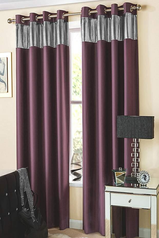 Стильные шторы цвета Cassis