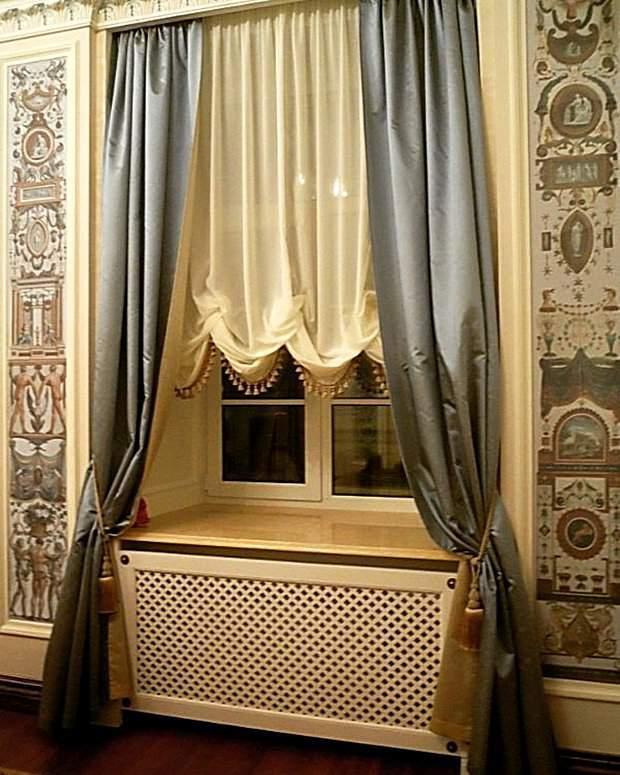 Красивые австрийские шторы