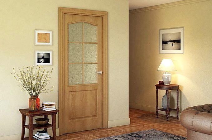Цвет двери в интерьере по принципу гармонии
