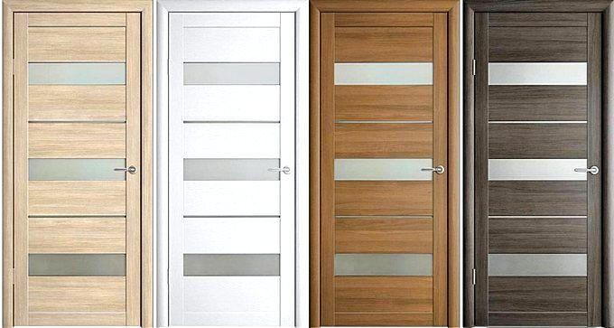 Двери с покрытием из экошпона
