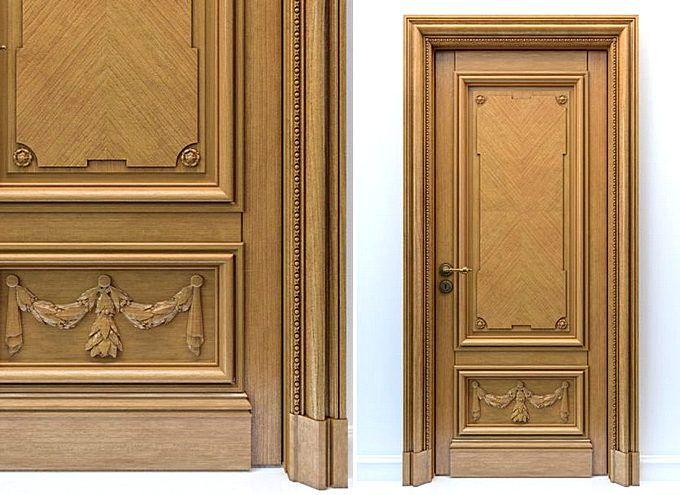 Двери из массива твердых пород дерева