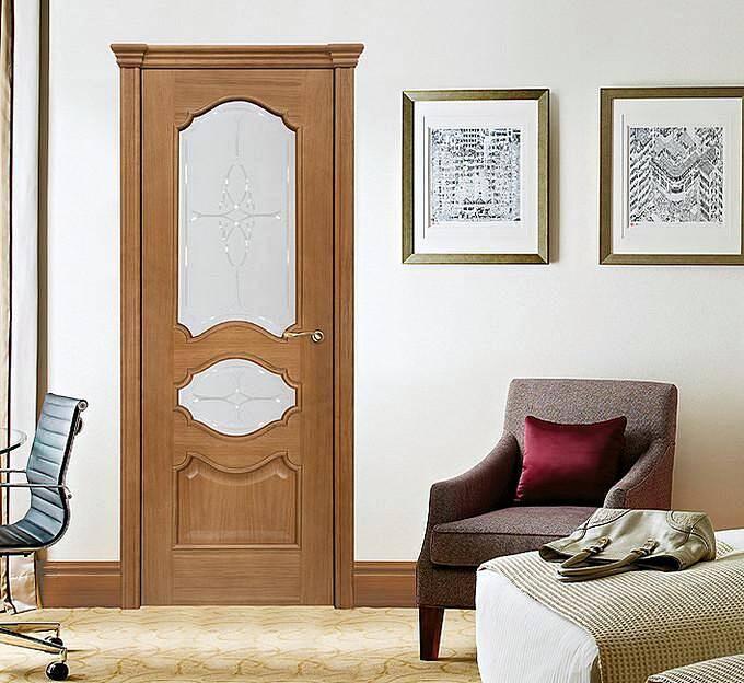 Фрезерованные межкомнатные двери