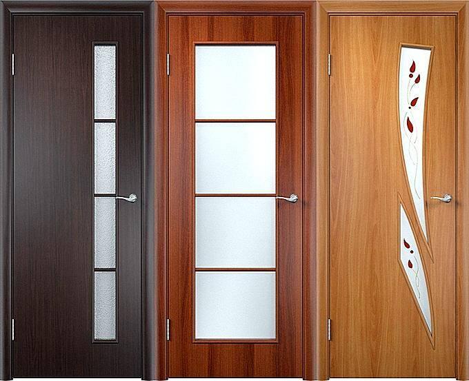 Межкомнатные двери с ламинированным покрытием