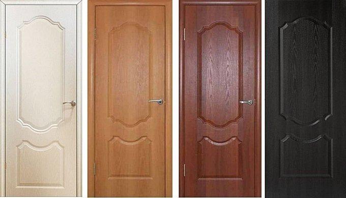 Двери с ПВХ покрытием