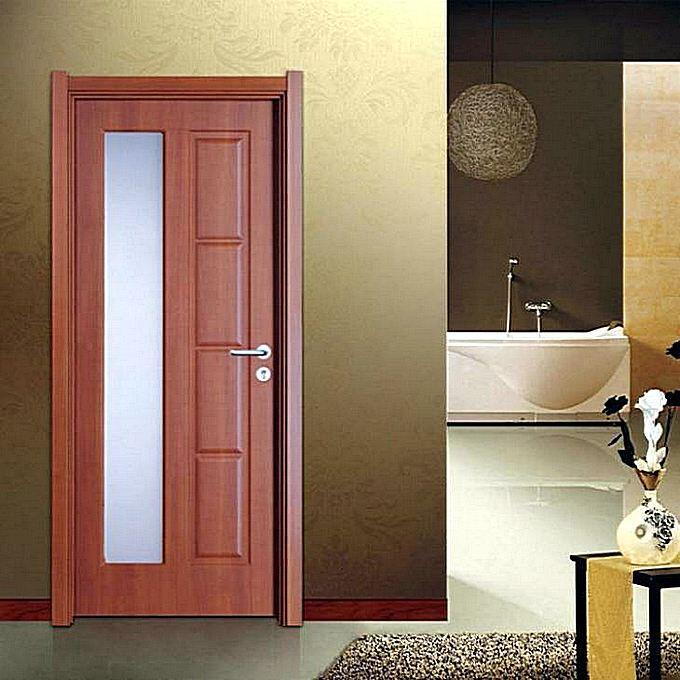 Двери с ПВХ покрытием для ванной комнаты