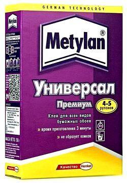 Клей Метилан для бумажных обоев