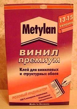 Клей Metilan для виниловых обоев
