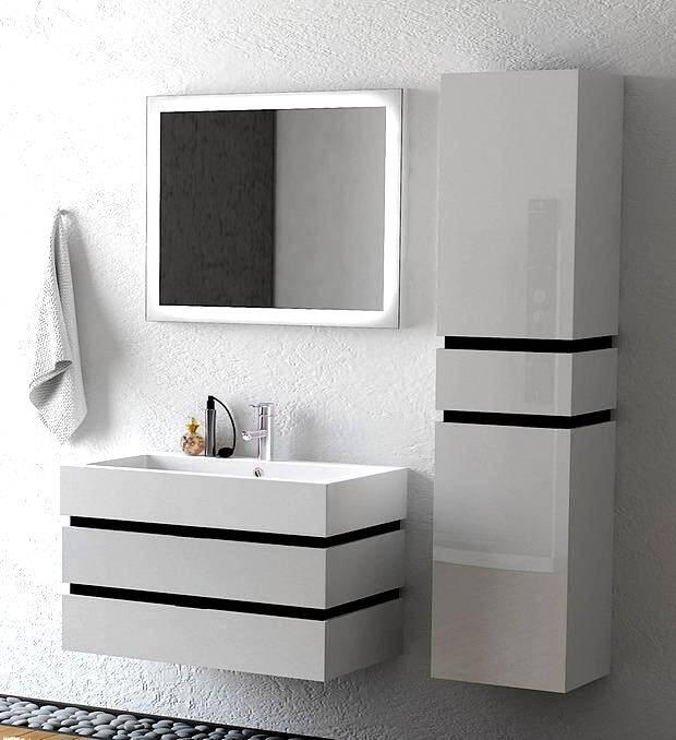 Подвесные тумбы в ванной комнате