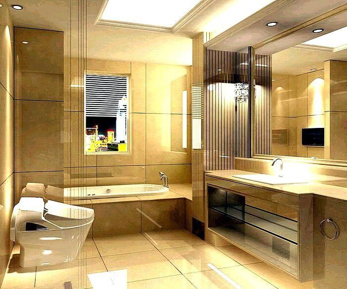 Современный дизайн ванной комнаты - фото реальных примеров